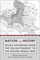Boek cover Nation and History van