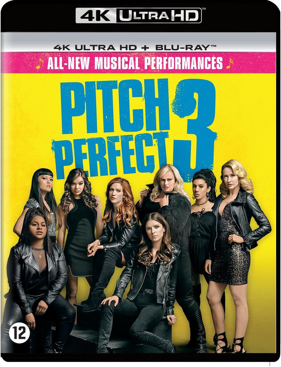Pitch Perfect 3 (4K Ultra HD Blu-ray)-