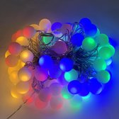 Partyverichting multi color 80 LED's - 12 meter - voor binnen & buiten