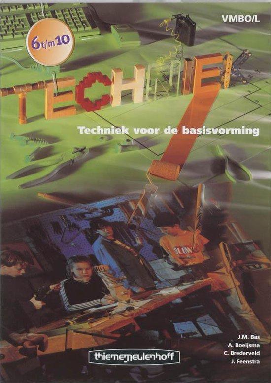 Techniek Voor De Basisvorming / Vmbo/L 6 T/M 10 / Deel Tekst/Werkboek - J.M. Bas   Fthsonline.com