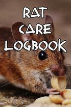 Rat Care Logbook
