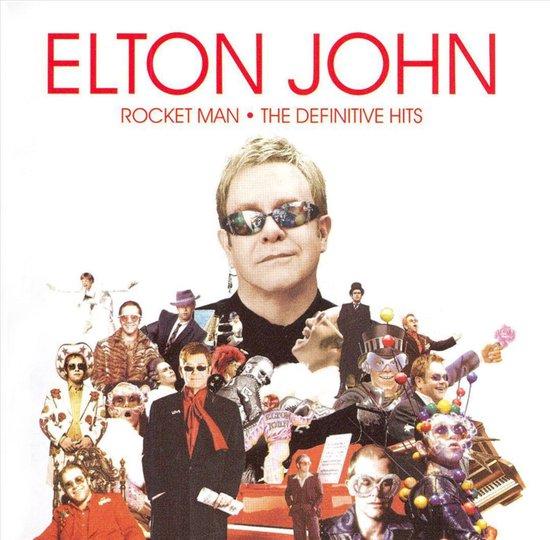 CD cover van Rocket Man: The Definitive Hits van Elton John