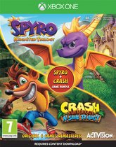 Crash Bandicoot N.Sane Trilogy & Spyro Reignited Double Pack Bundle - Xbox One