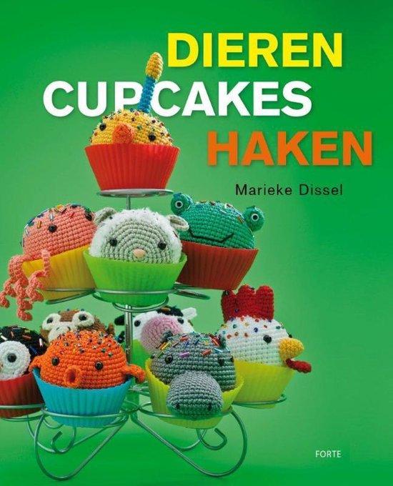Dieren cupcakes haken - Dissel |