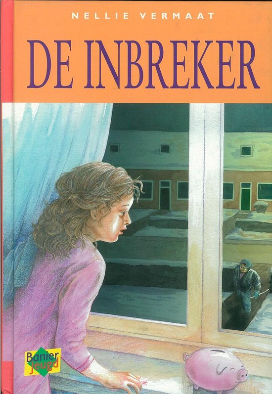 Boek cover De inbreker van Nellie Vermaat (Onbekend)