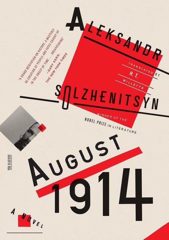 Boek cover August 1914: A Novel van Aleksandr Solzhenitsyn (Onbekend)