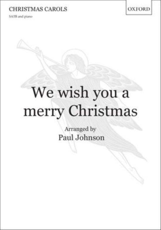 Boek cover We wish you a merry Christmas van Johnson (Onbekend)