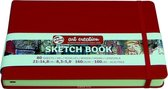 Talens Art Creation schetsboek rood 14,8x21 140grams