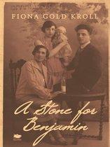 Boek cover A Stone for Benjamin van Fiona Gold Kroll