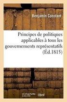 Principes de politiques applicables a tous les gouvernements representatifs