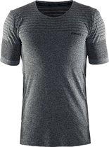 CRAFT cool comfort rn ss - Sportshirt - Heren - Black Mélange