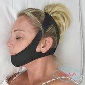 Zeer comfortabele Anti-Snurk Kinband, snurkband, hoofdband die goed blijft zitten, geeft nachtrust, uniseks, stopt snurken Snurk band