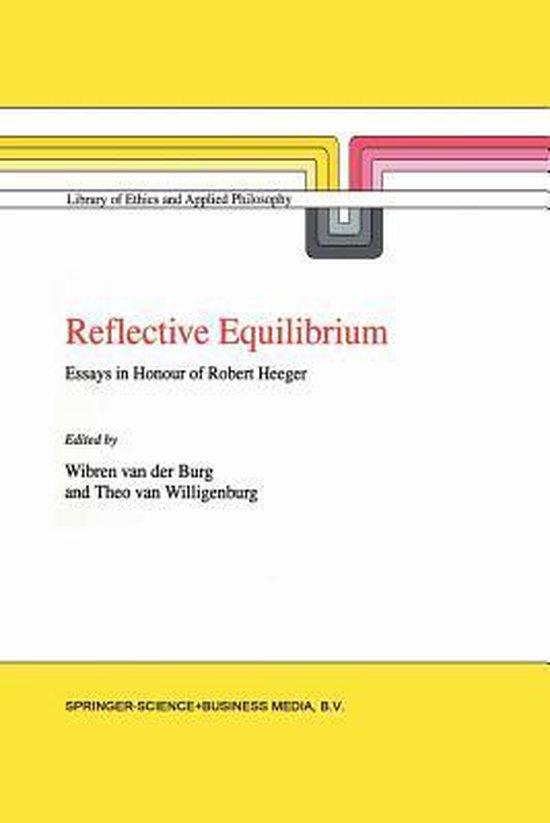 Boek cover Reflective Equilibrium van Der (Paperback)
