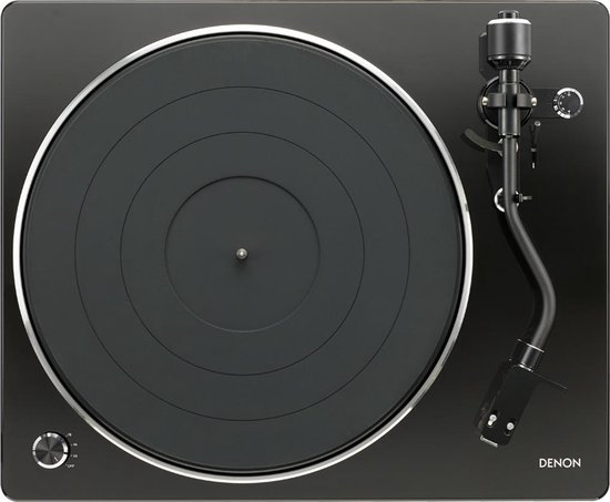 Denon DP-400 - Platenspeler met riemaandrijving - Zwart