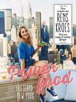 Boek cover Powerfood - Van Friesland naar New York van Rens Kroes (Hardcover)