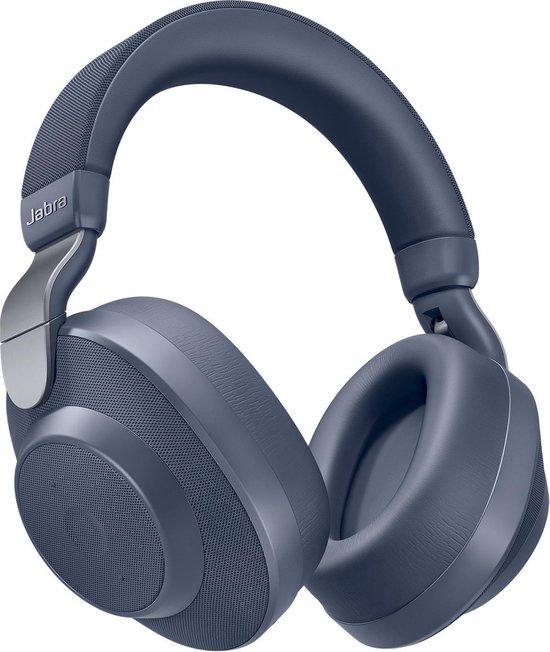 Jabra Elite 85h - Draadloze over-ear koptelefoon met Noise Cancelling - Blauw