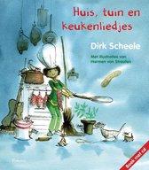 Boek cover Huis, tuin en keukenliedjes + ja van Dirk Scheele (Hardcover)