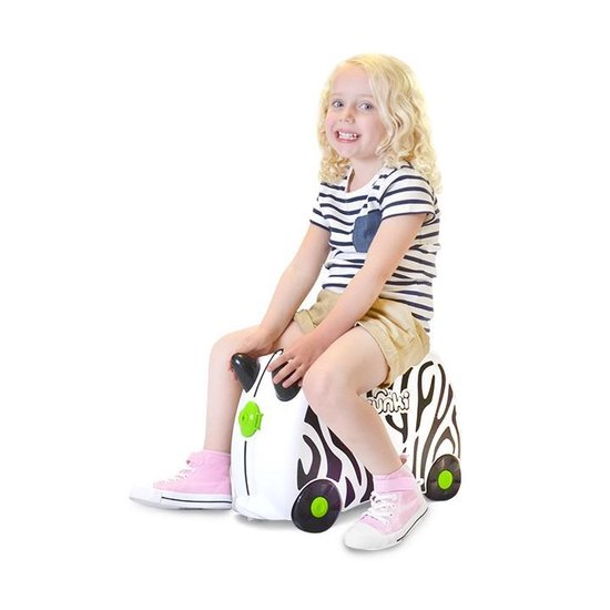 Trunki Ride-On Kinderkoffer Zimba de Zebra