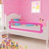 Bedhekje peuterbed 150 x 42 cm Roze / Bed hekje peuter bed