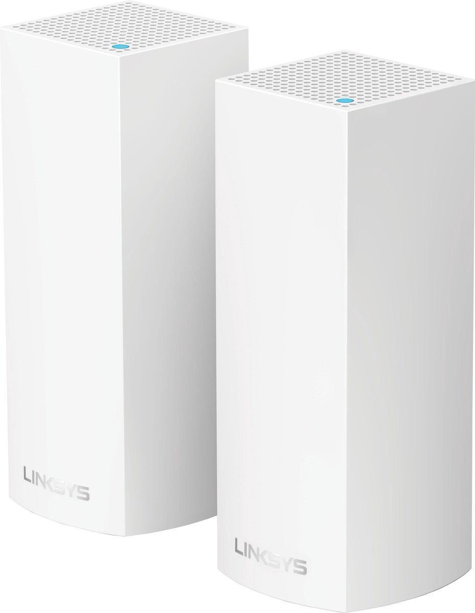 Linksys Velop Tri Band - Multiroom Wifi Systeem - Duo Pack