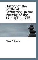 History of the Battle of Lexington