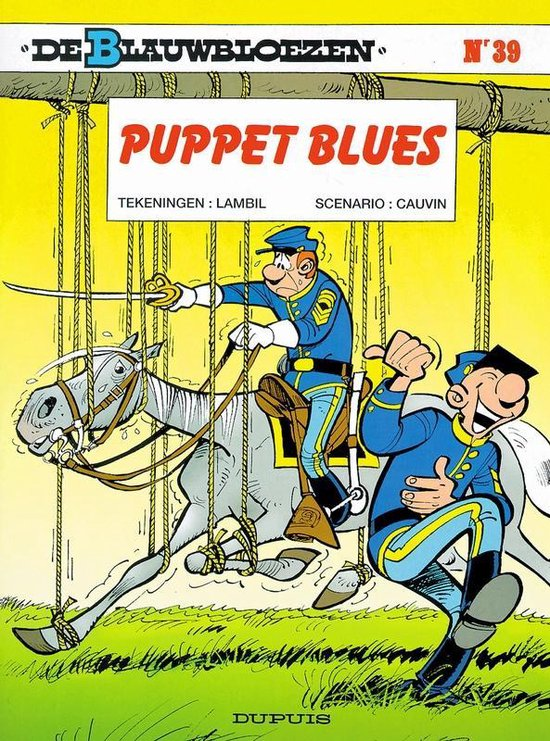 Blauwbloezen 39. puppet blues - Willy Lambil |