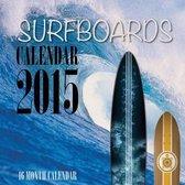Surfboards Calendar 2015
