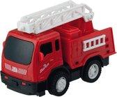 Happy People Brandweerwagen 11 Cm Rood
