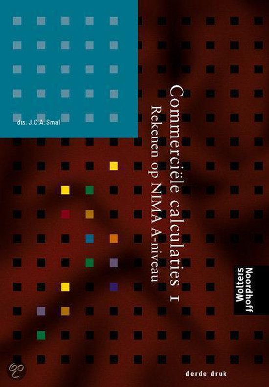 Commerciele calculaties 1 - John Smal |