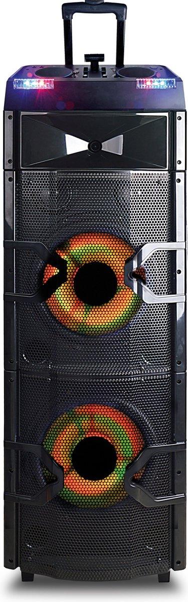 Noonday DJ Party Speaker Tower XXL | Bluetooth Speaker | LED Disco Effecten