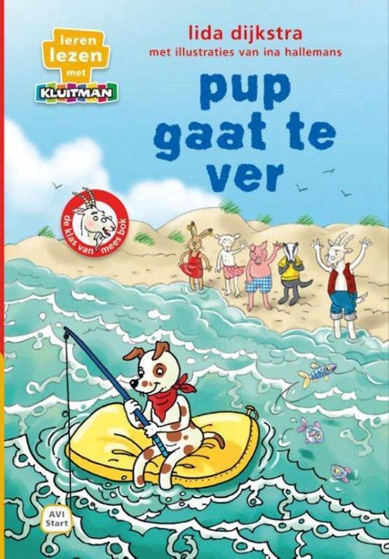 Boek cover Pup gaat te ver van Lida Dijkstra (Hardcover)
