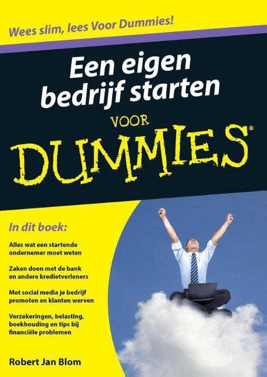 Voor Dummies - Een eigen bedrijf starten voor Dummies - Robert J. Blom |