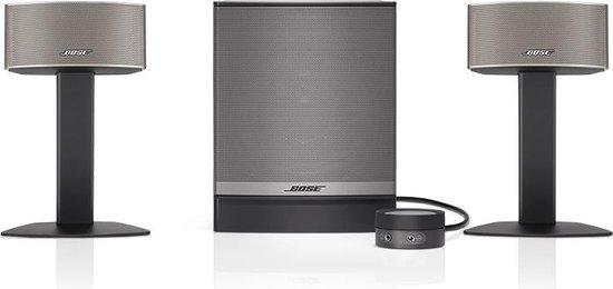 Bose Companion 50 - 2.1 speakerset - Donker grijs
