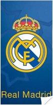 Real Madrid Logo - Strandlaken - 70 x 140 cm - Blauw
