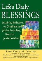 Boek cover Lifes Daily Blessings van Kerry M. Olitzky