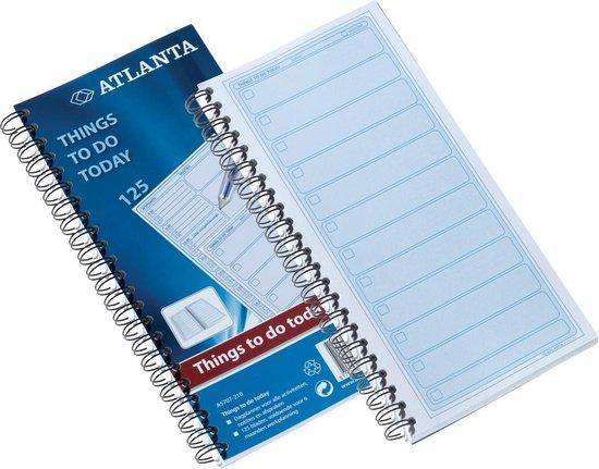 Afbeelding van ATLANTA To do blok - Bedrijfsformulier A5707 - 125 vellen