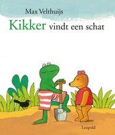 Boek cover Kikker vindt een schat van Max Velthuijs
