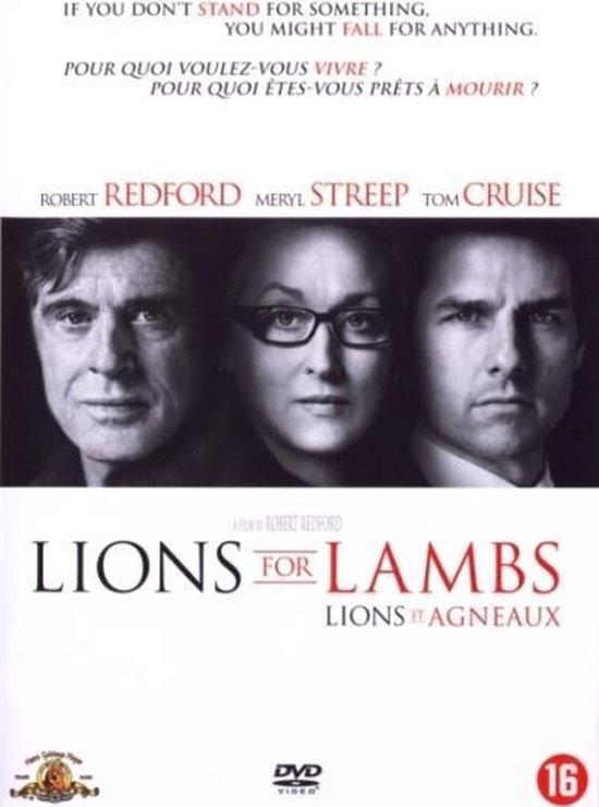 Cover van de film 'Lions For Lambs'