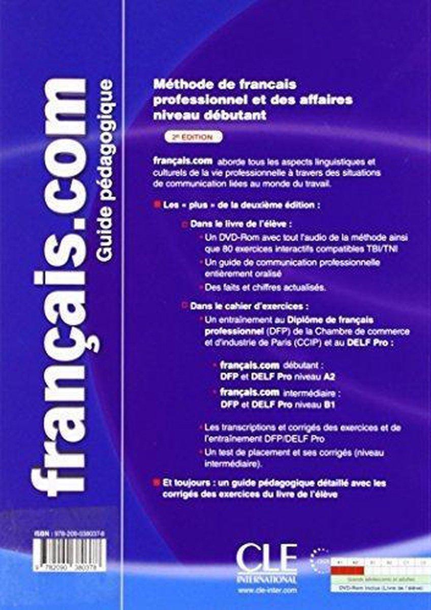 Bol Com Français Com Débutant Nouvelle édition Guide Pédagogique 9783125294639 Boeken