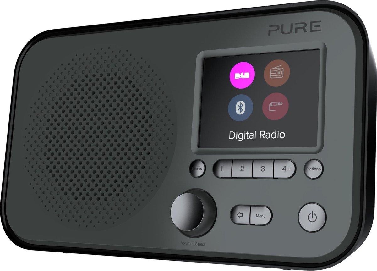 Pure Elan BT3 Graphite draagbare DAB radio