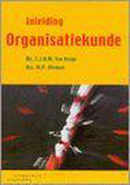 Boek cover Inleiding Organisatiekunde van L.J.A.M. ten Berge (Paperback)