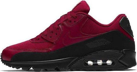 Nike Air Max 90 Essential zwart rood maat 49.5 | Bestel nu!