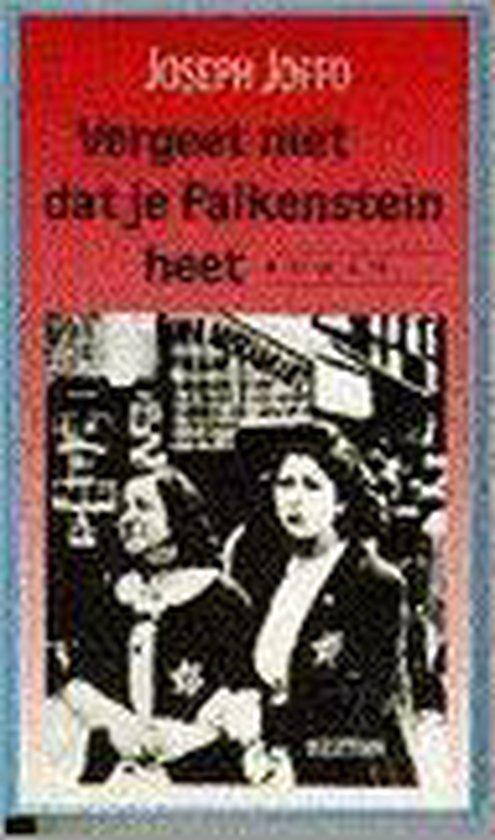 Vergeet niet dat je Falkenstein heet - Joseph Joffo pdf epub