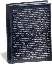 muntenalbum voor 96 munten, met 8 bladen voor elk 12 Munten