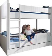 Vipack Robin - Stapelbed - Wit - 97 x 210 cm