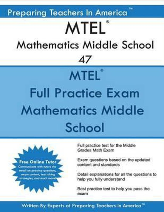 MTEL Mathematics Middle School 47