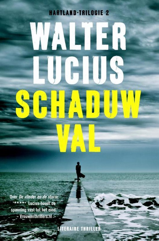 Cover van het boek 'Hartland / 2 Schaduwval' van Walter Lucius