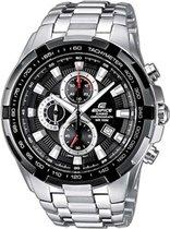 Casio Horloge EF-539D-1AVEF - 49 mm - Staal - Zilverkleurig