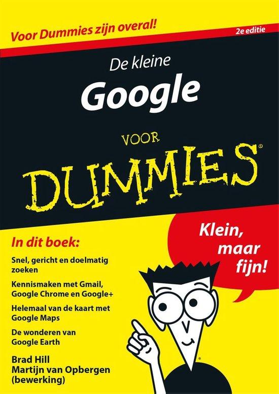 Voor Dummies - De kleine Google voor Dummies - Brad Hill |
