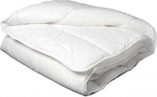 Ultra Soft Princessdekbed Enkel- Eenpersoons-140x200 cm- Anti Allergie-Wasbaar -Wit